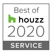 best of houzz 2020 service badge