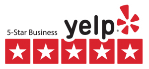 yelp 5 star badge