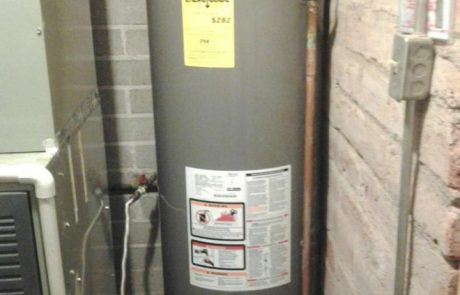 Rheem 50 gallon gas water heater installation