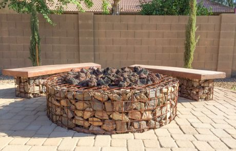 fire pit stone