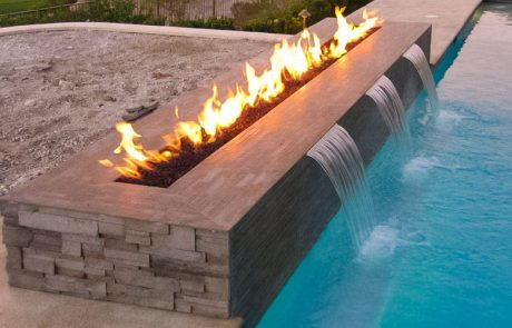 pool fire feature