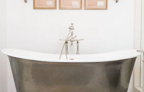 tub and faucet